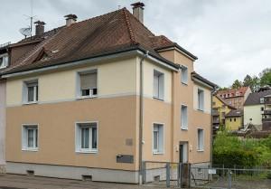 Refernz Maler Mausolf Pforzheim - Ispringen - Eine unserer Kernkompetenzen - Malerarbeiten an Aussenfassaden 1