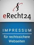 Maler Pforzheim - Maler Ulrich Mausolf - maler und boden - erecht24-siegel-impressum-blau