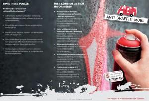 Soziales Engagement - Maler Mausolf - Anti-Graffiti-Mobil Pforzheim